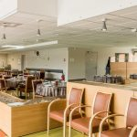 La Barbacane, salle de restauration