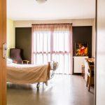 Las Arribas, chambre
